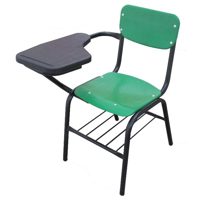 silla de paleta dos piezas enkel mobiliario escolar y